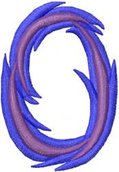 Wild 0 embroidery design