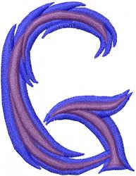Wild G embroidery design