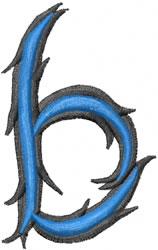 Wild b embroidery design