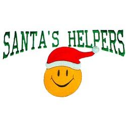 Santas Helpers embroidery design