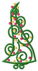 Trim The Xmas Tree! embroidery design