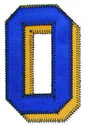 0 Zig-Zag embroidery design