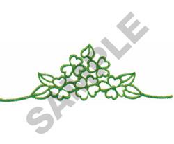 FLORAL DESIGN BORDER embroidery design