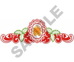 FLORAL DESIGN #140 embroidery design