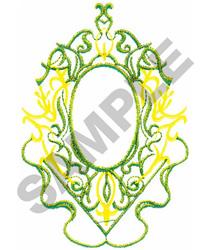 SCROLL DESIGN #214 embroidery design