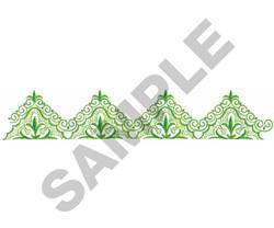 TRIANGULAR BORDER embroidery design