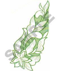 FLORAL #225 embroidery design
