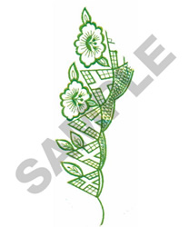 FLORAL #256 embroidery design