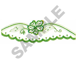 FLORAL MOTIF #261 embroidery design