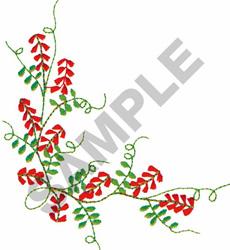 FLORAL BORDER #292 embroidery design