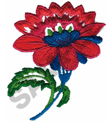 FLOWER  #395 embroidery design