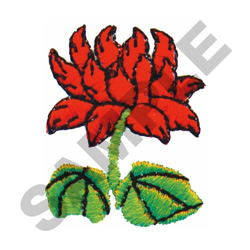 FLOWER #432 embroidery design