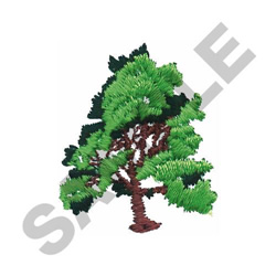 TREE #455 embroidery design
