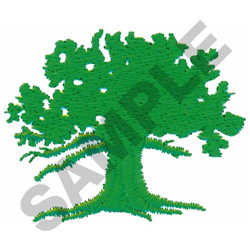TREE #465 embroidery design