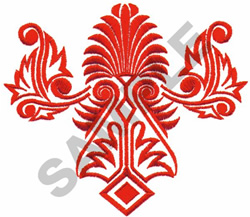 Fancy Decoration embroidery design