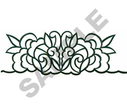FLORAL MOTIF embroidery design