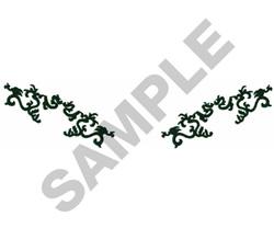 COLLAR VINES embroidery design