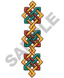 CELTIC CHAIN BORDER embroidery design