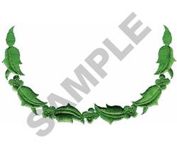 Leaf Border embroidery design