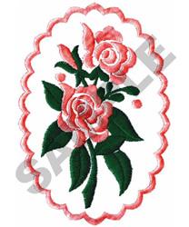 ROSE CAMEO embroidery design