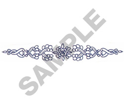 ABSTRACT DESIGN embroidery design