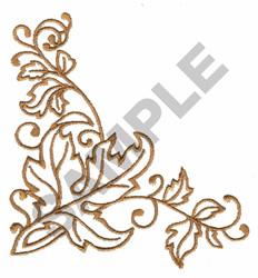 LEAF DESIGN embroidery design