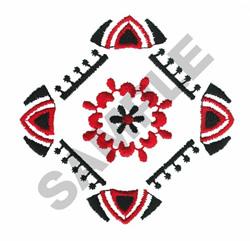 BANDANA DESIGN embroidery design