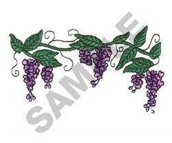 GRAPE VINE embroidery design