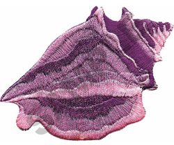 CONCH SHELL embroidery design