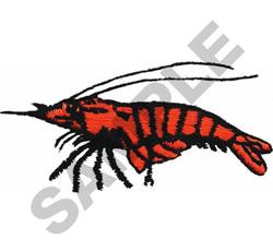 CRAWDAD embroidery design
