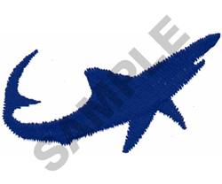 MAKO SHARK embroidery design