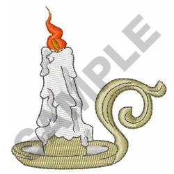 SPOOKY CANDLE embroidery design