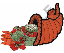 CORNUCOPIA  APPLIQUE embroidery design