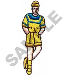 STYLISH MAN embroidery design