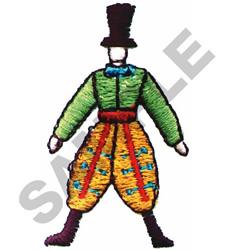 FANCY PANTS MAN embroidery design