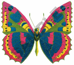 BEAUTIFUL BUTTERFLY embroidery design