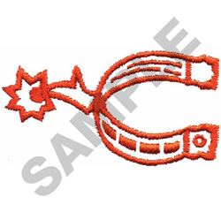 SPUR embroidery design