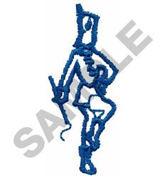 MAJORETTE embroidery design