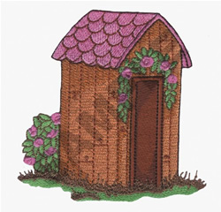 TOOL  SHED embroidery design