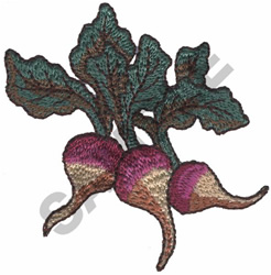 TURNIPS embroidery design