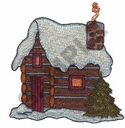 CABIN embroidery design