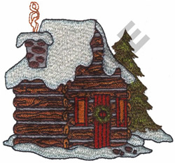 CABIN embroidery design