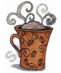 CAPPUCCINO embroidery design