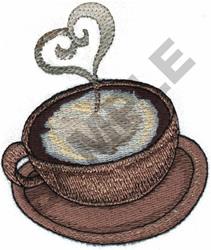 LATTE embroidery design