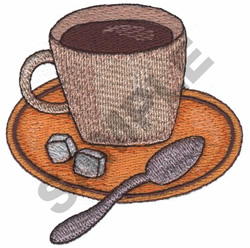 COFFEE embroidery design