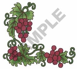 GRAPEVINE BORDER embroidery design