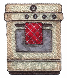 STOVE embroidery design