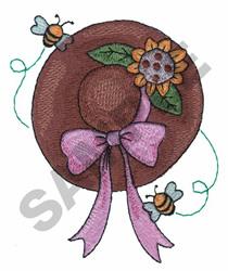 GARDENERS HAT embroidery design