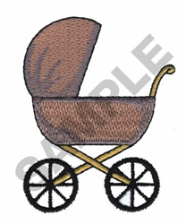 STROLLER embroidery design