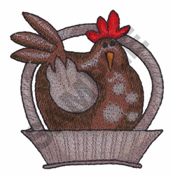 CHICKEN embroidery design